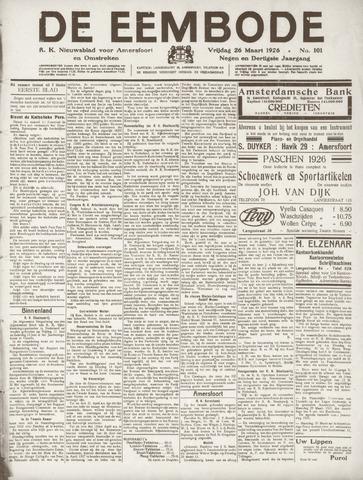 De Eembode 1926-03-26