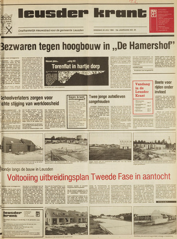 Leusder Krant 1984-07-24