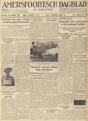 Amersfoortsch Dagblad / De Eemlander 1940-11-28