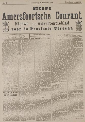 Nieuwe Amersfoortsche Courant 1911-01-01