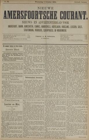 Nieuwe Amersfoortsche Courant 1884-10-08