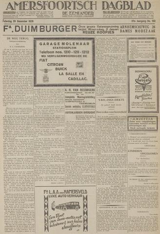 Amersfoortsch Dagblad / De Eemlander 1928-12-29