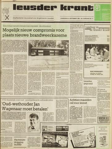 Leusder Krant 1988-09-22