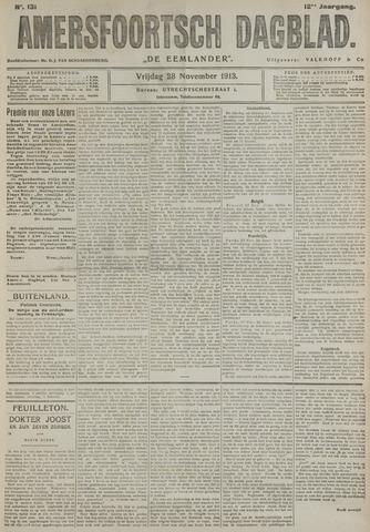 Amersfoortsch Dagblad / De Eemlander 1913-11-28