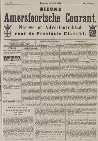 Nieuwe Amersfoortsche Courant 1914-07-25