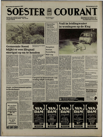 Soester Courant 1982-08-25