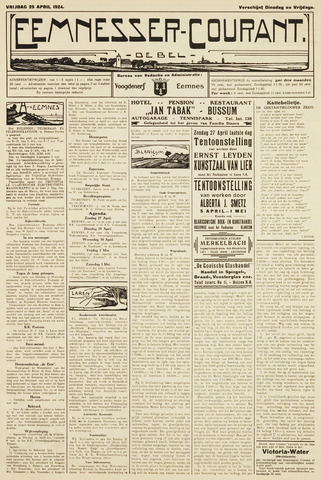 Eemnesser Courant 1924-04-25