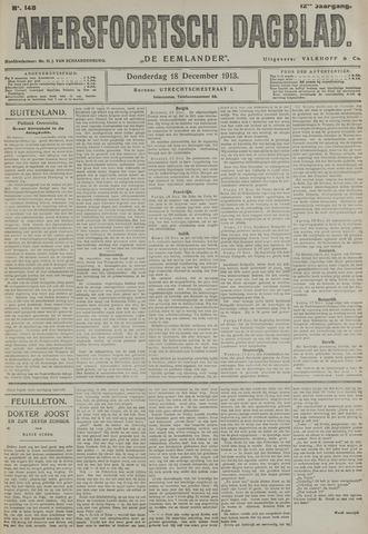 Amersfoortsch Dagblad / De Eemlander 1913-12-18