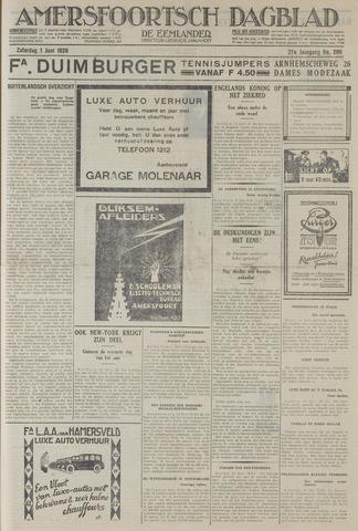 Amersfoortsch Dagblad / De Eemlander 1929-06-01