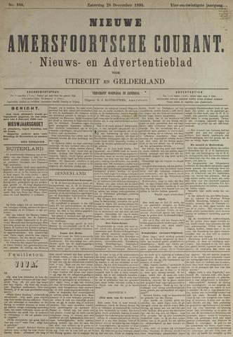 Nieuwe Amersfoortsche Courant 1895-12-28