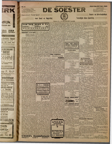 De Soester 1926-02-20
