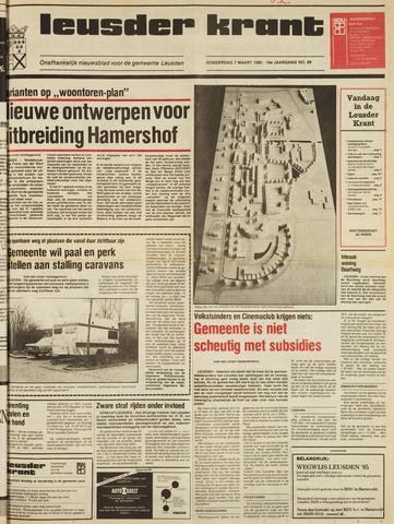 Leusder Krant 1985-03-07
