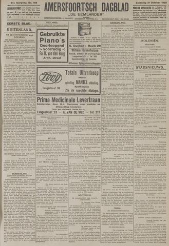 Amersfoortsch Dagblad / De Eemlander 1925-10-31