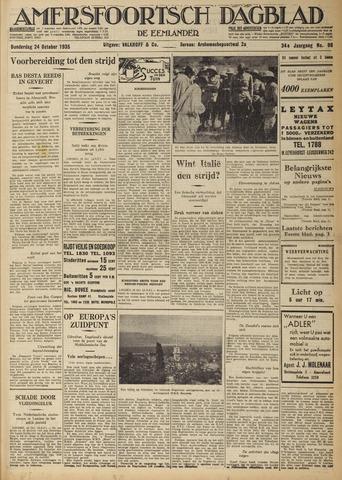 Amersfoortsch Dagblad / De Eemlander 1935-10-24