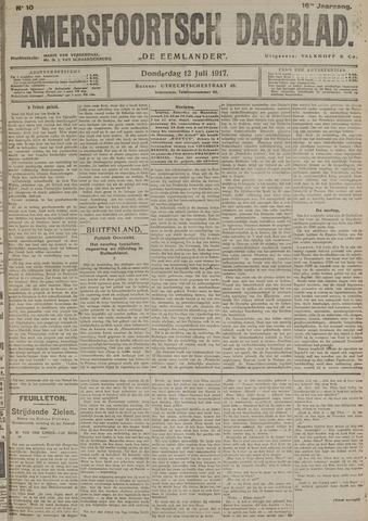 Amersfoortsch Dagblad / De Eemlander 1917-07-12