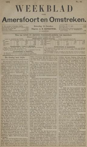 Weekblad voor Amersfoort en Omstreken 1873-10-11