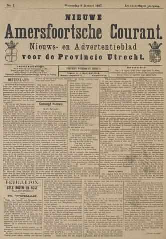Nieuwe Amersfoortsche Courant 1907-01-09