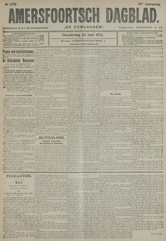 Amersfoortsch Dagblad / De Eemlander 1915-06-24