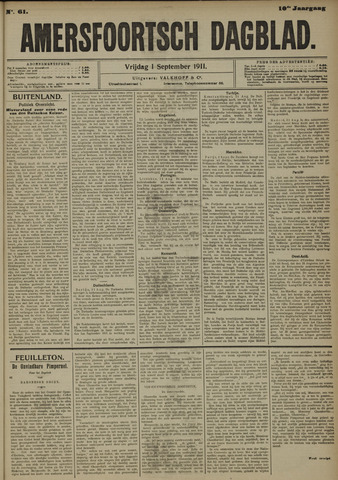 Amersfoortsch Dagblad 1911-09-01