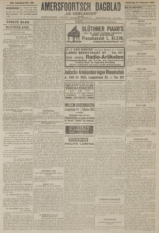 Amersfoortsch Dagblad / De Eemlander 1925-02-21