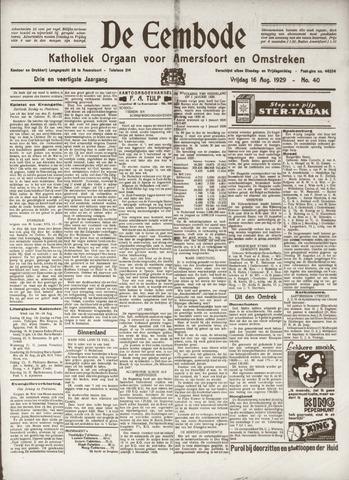 De Eembode 1929-08-16