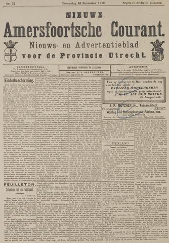 Nieuwe Amersfoortsche Courant 1910-11-16