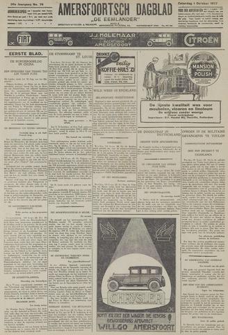 Amersfoortsch Dagblad / De Eemlander 1927-10-01