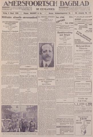 Amersfoortsch Dagblad / De Eemlander 1935-03-08