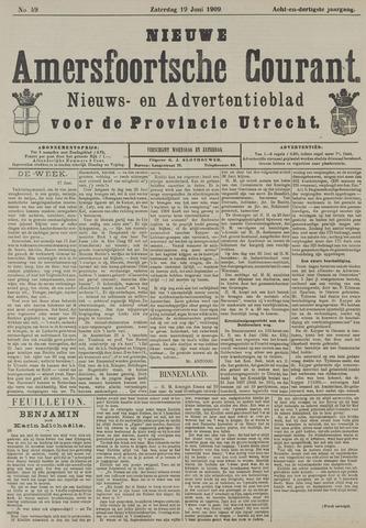 Nieuwe Amersfoortsche Courant 1909-06-19