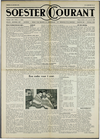 Soester Courant 1960-01-22