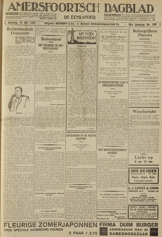 Amersfoortsch Dagblad / De Eemlander 1932-05-14