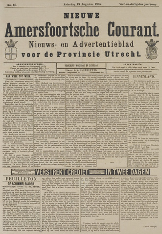 Nieuwe Amersfoortsche Courant 1905-08-19