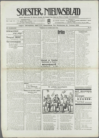 Soester Courant 1938-02-25