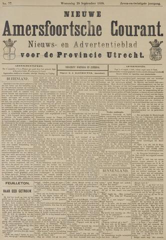 Nieuwe Amersfoortsche Courant 1898-09-28