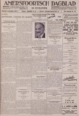 Amersfoortsch Dagblad / De Eemlander 1934-09-03
