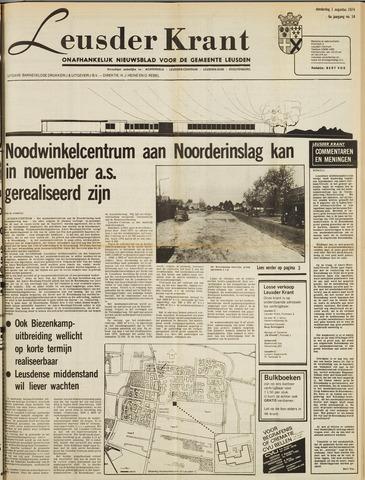 Leusder Krant 1974-08-01