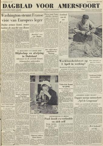 Dagblad voor Amersfoort 1951-09-15
