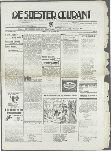 Soester Courant 1938-03-11