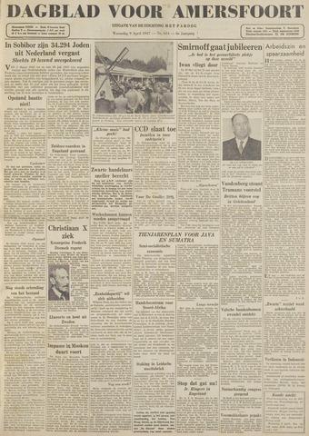 Dagblad voor Amersfoort 1947-04-09