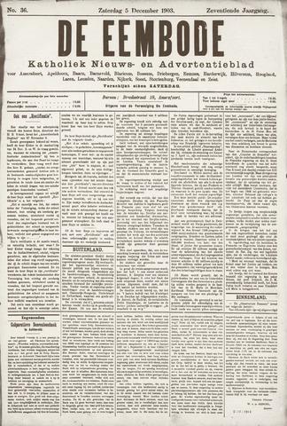 De Eembode 1903-12-05