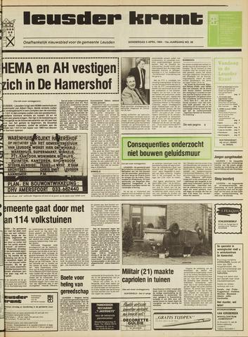 Leusder Krant 1984-04-05