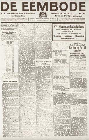 De Eembode 1923-10-23