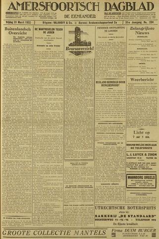 Amersfoortsch Dagblad / De Eemlander 1933-03-31