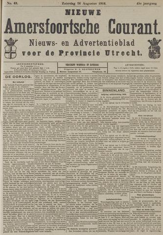 Nieuwe Amersfoortsche Courant 1916-08-26