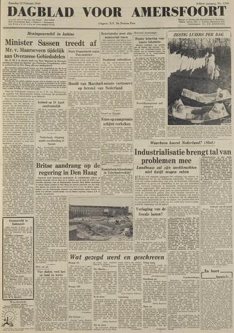 Dagblad voor Amersfoort 1949-02-12