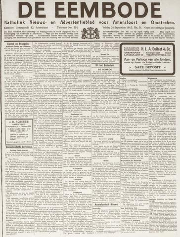 De Eembode 1915-09-24