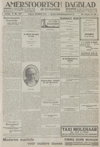 Amersfoortsch Dagblad / De Eemlander 1931-05-16