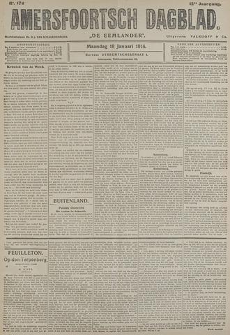 Amersfoortsch Dagblad / De Eemlander 1914-01-19
