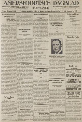 Amersfoortsch Dagblad / De Eemlander 1932-01-15
