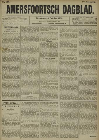 Amersfoortsch Dagblad 1908-10-08